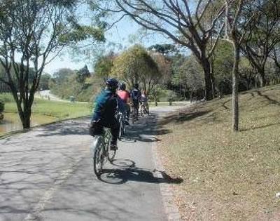 Ciclismo no Parque