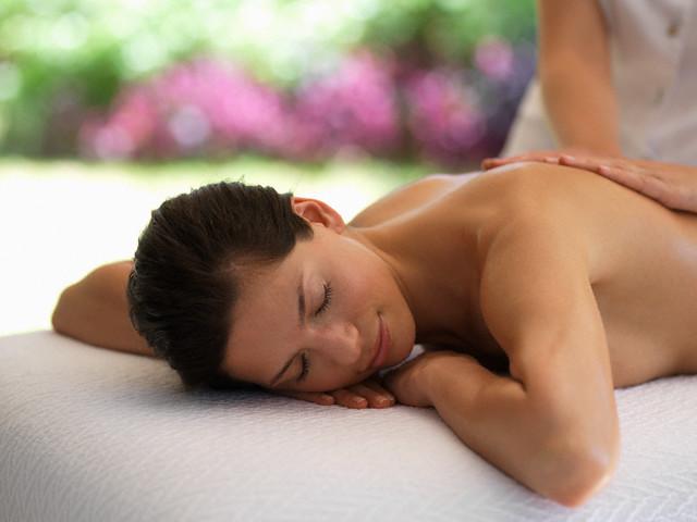 Massagem no Spa Matchpoint