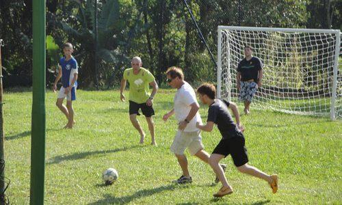Campo de futebol - área de lazer